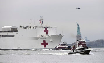 'It's a joke' — the Navy's 1,000-bed USNS Comfort hospital ship barely has any patients