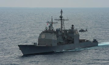 Fire strikes fourth Navy warship since mid-July