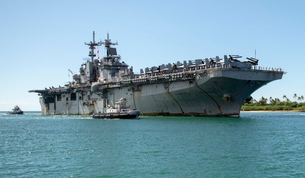 The Navy has its first case of coronavirus aboard a warship