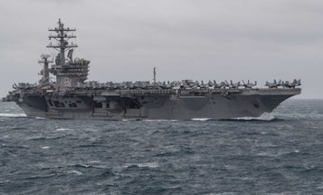 A coronavirus outbreak aboard an aircraft carrier is one of the possibilities facing the US military