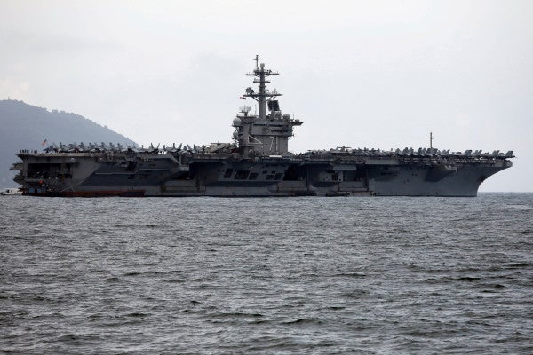 Trump says he may intervene in the USS Theodore Roosevelt debacle