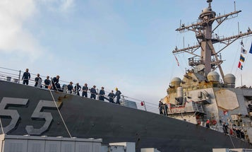 Sailors say that being at sea for 215 days really sucked