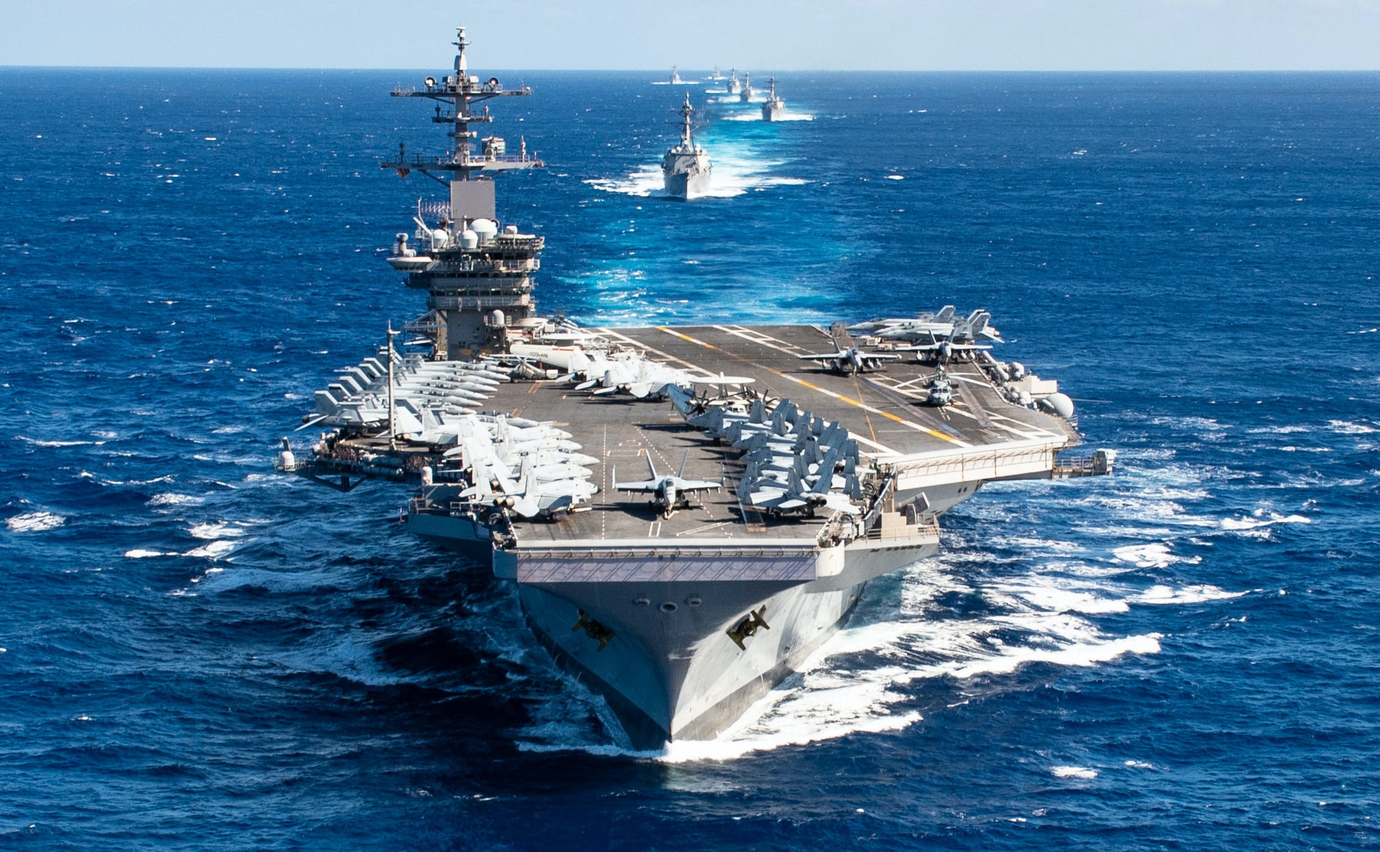 Search underway for missing USS Theodore Roosevelt sailor
