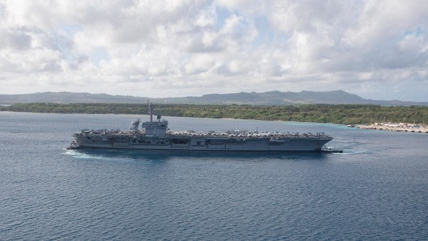 USS Theodore Roosevelt finally returns to sea after two months sidelined by COVID-19