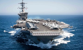 Acting Navy Secretary blasts USS Theodore Roosevelt captain as 'too naive or too stupid' in leaked speech to ship's crew