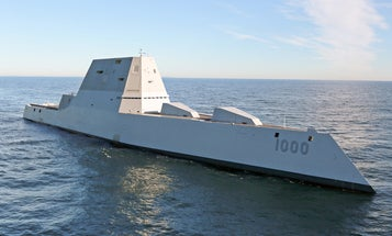 The Navy is eyeing a brand new destroyer bristling with lasers and hypersonic weapons