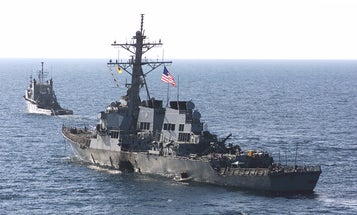 When terrorists attacked the USS Cole, crew members refused to give up the ship