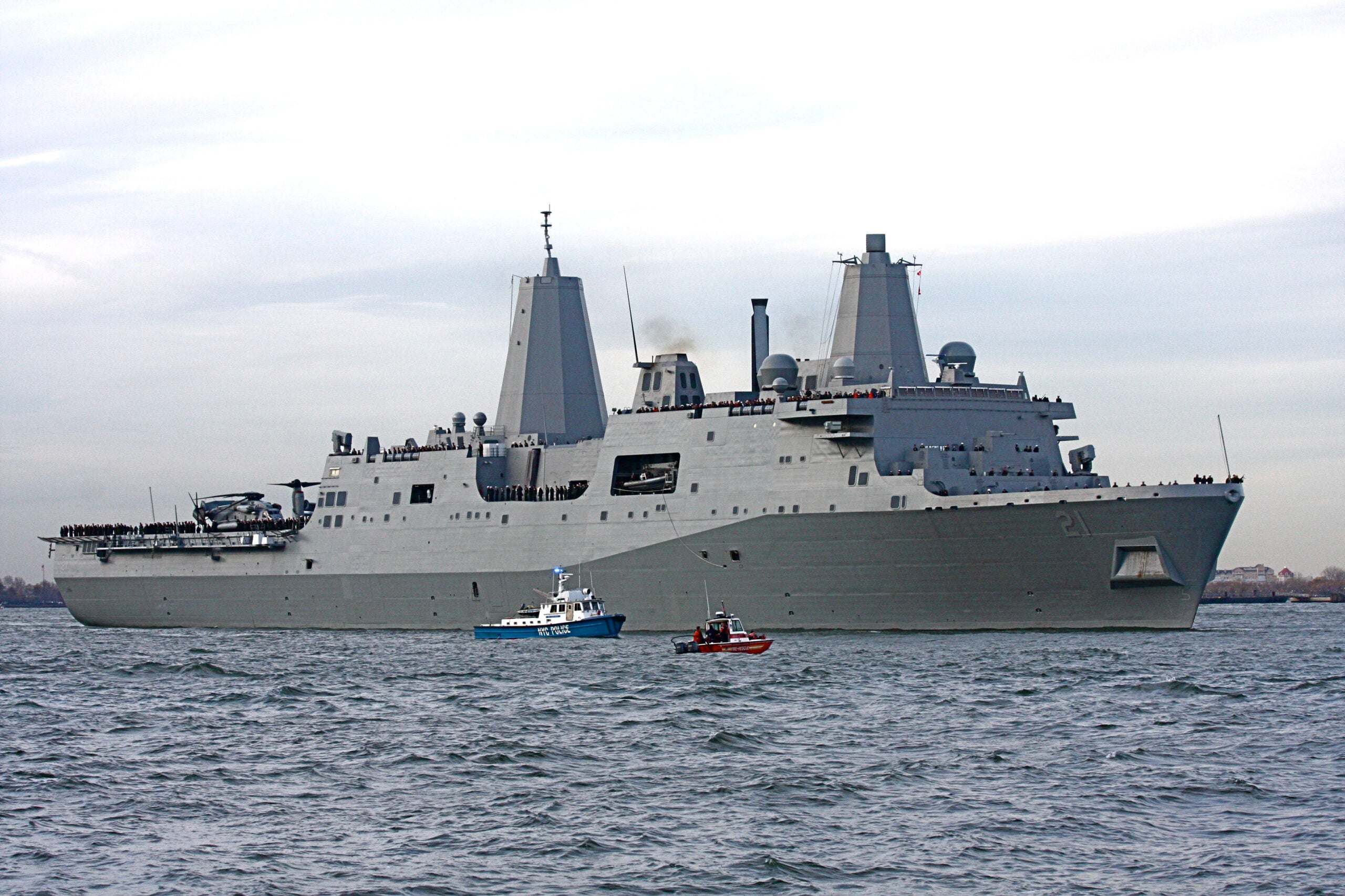 9/11 and the legacy of the USS New York