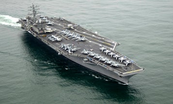 USS Nimitz ordered to turn the f— around and stay in the Middle East amid Iran threats
