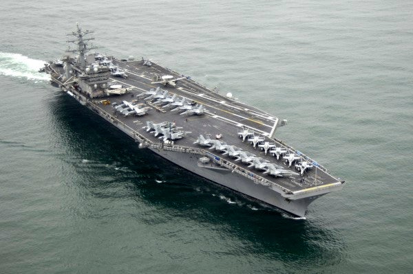 The USS Nimitz is back in the Middle East amid Iraq, Afghanistan drawdowns