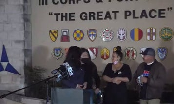 Guillén family holds press conference after meeting with Fort Hood leadership
