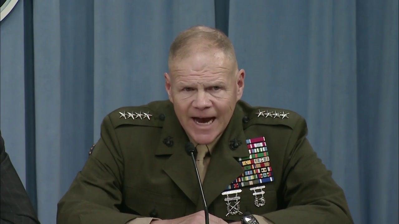 Marine Corps Commandant: 'We're The Mujahideen' In Afghanistan