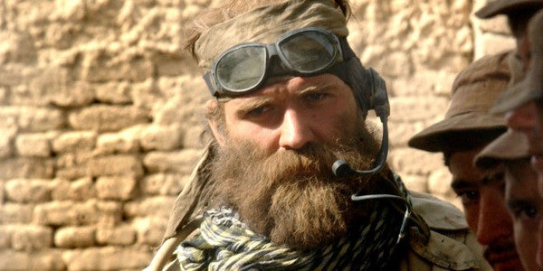 A Soldier Just Got Permission To Rock A Beard Because He's A Metal Heathen