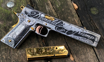 Here's The Presidential Hand-Cannon Gunmaker Jesse James Created Just For Trump