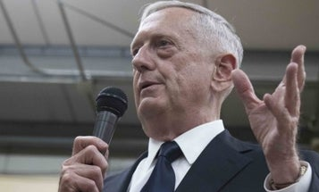 Mattis Uses In-Flight Safety Brief To Explain 'America First' To Allies