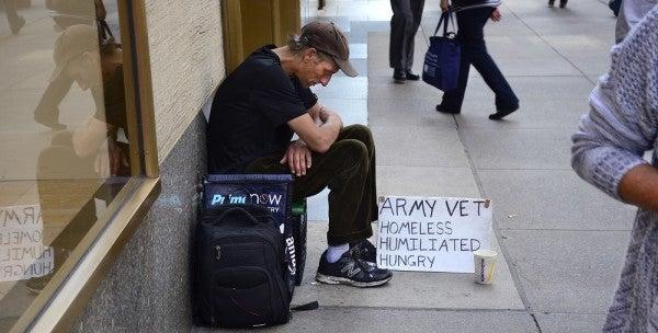 Homeless Veterans Work For A Living