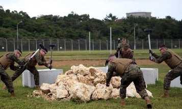 Soon, Marines Who Break The Rules May Have To Break Some Rocks With A Hammer
