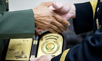 Check Out All The Weird Pricey Swag DoD Bigwigs Get From Foreign Dignitaries
