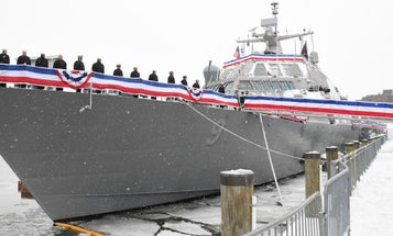 The Navy's Newest Warship Is Still Stranded In Canada