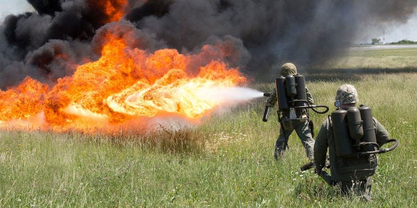 The Tactical Case For The Flamethrower, According To A Vietnam War Vet