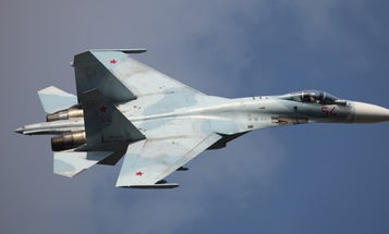 Russian Jet Comes Within 5 Feet Of US Navy Plane Over Black Sea