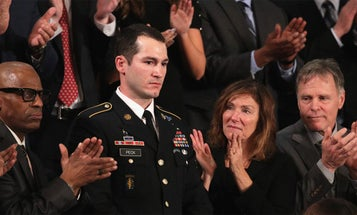 Troops Were The Accessory Of The Night As Politicians Tried To Out-America Each Other