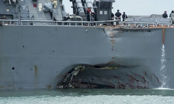 USS John McCain's Former XO Disciplined As Fallout From Deadly Collisions Sweeps Navy