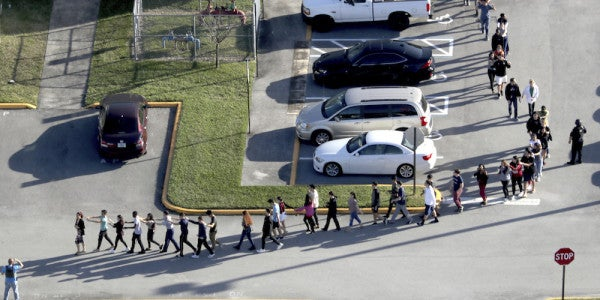 Florida Shooting Suspect Reportedly Trained With White Nationalist Militia