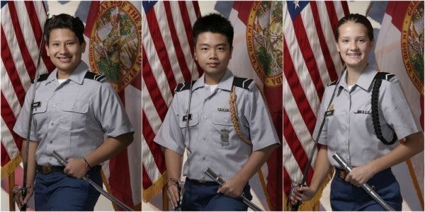 The Army Is Officially Honoring Three Slain JROTC Cadets For Their Heroism During The Florida Shooting