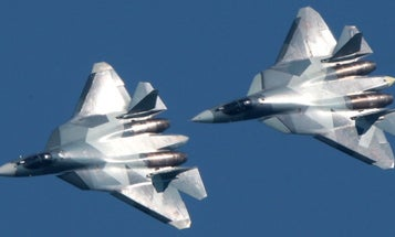 Russia's Newest, Mysterious Fighter Jet Just Showed Up In Syria