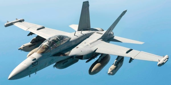 Navy Pilots Suffer Frostbite And Blindness During Bizarre Mid-Flight Incident