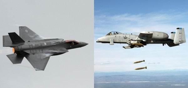 A-10 Vs. F-35: The Ground-Pounding Showdown You've Been Waiting For Is Almost Here