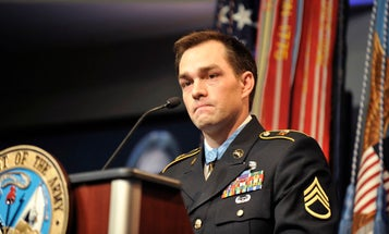 Medal of Honor Recipient Clint Romesha: People Should Stop 'Armchair Quarterbacking' What They'd Do In A School Shooting