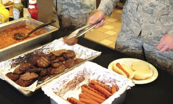 How To Eat Everything, According To The Army's Retro Survival Guide