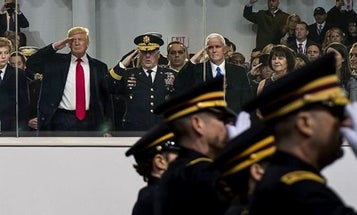 Trump May Not Even Show Up To His Own Military Parade