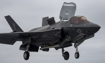 The Navy Just Sent Its First-Ever F-35 Carrier To The Pacific