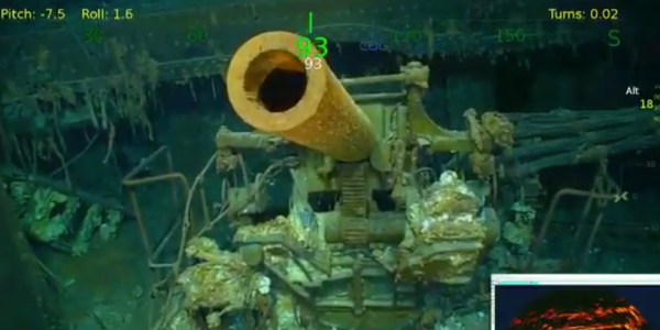 The Wreckage Of One Of America's Most Storied World War II Aircraft Carriers Was Just Discovered