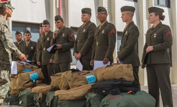 A Handful Of Female Marines Just Made History At Camp Pendleton