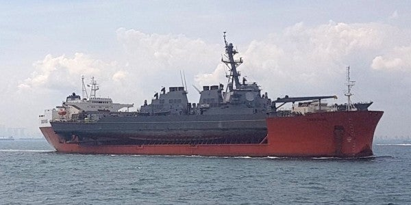 Destroyer John S. McCain's Sudden Turn Caused Deadly Collision: Report