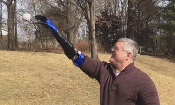 This Marine Lost His Hand In Iraq. His Son Made Him A Prosthetic So They Could Play Catch