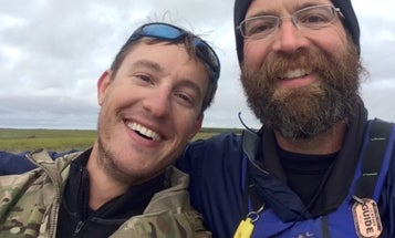 Here's What Happens When 3 Air Force Veterans Paddle North Into Oblivion