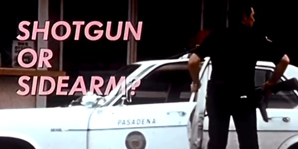 When Exactly Should You Use A Shotgun? Check This Gritty 1970s Police Training Video