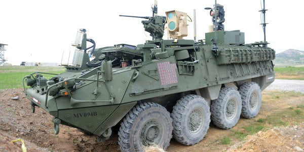 A Handful Of Lucky Soldiers Are Already Rocking The Army's Newest Laser Weapon Downrange