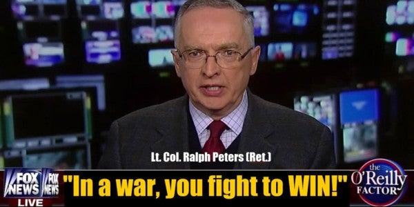 Cable TV's Toughest-Talking Military Analyst Quits Fox News Because It's 'A Propaganda Machine'