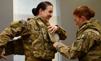Military Changing Body Armor to Accommodate Women's Hairstyles