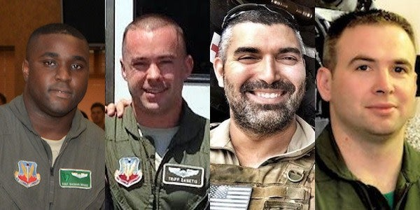 Military Considering Promotions For Airmen Killed In Iraq Helo Crash