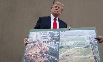 Trump Reportedly Wants The Military To Pay For The Wall Mexico Was Supposed To Pay For