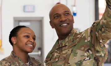 Top Enlisted Airman Wears The OCP And Airmen Think He's Trolling Them