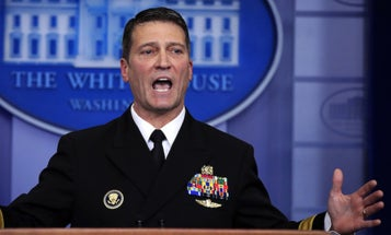 Trump's VA Pick Withdraws, Calls Drinking And Pill-Pushing Stories 'False Allegations'
