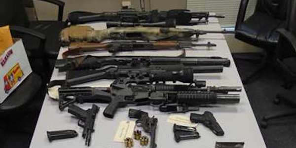 Texas Army Vet, Arrested With Massive Weapons Cache, Claims It's For A 'Classified' Mission